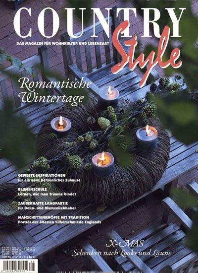 zeitschrift country style im abo kaufen f r 28 00. Black Bedroom Furniture Sets. Home Design Ideas