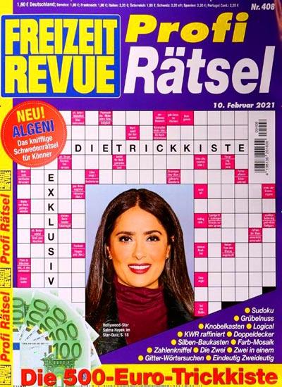 Kreuzworträtsel online freizeit revue