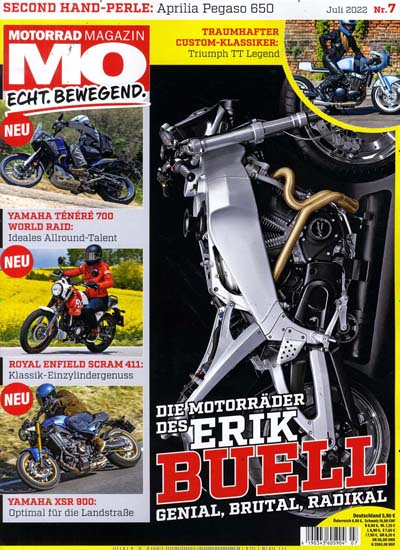 zeitschrift mo motorradmagazin im abo kaufen ab 59 00. Black Bedroom Furniture Sets. Home Design Ideas