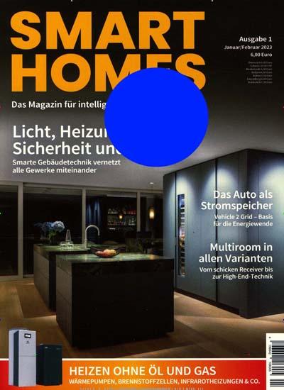 zeitschrift smart homes im abo kaufen ab 30 00. Black Bedroom Furniture Sets. Home Design Ideas