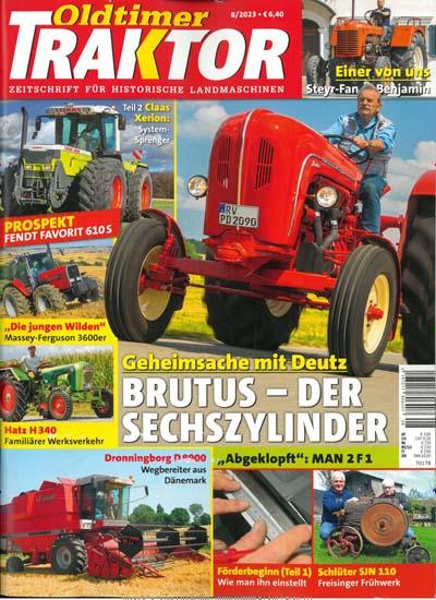 zeitschrift oldtimer traktor im abo kaufen ab 57 60. Black Bedroom Furniture Sets. Home Design Ideas