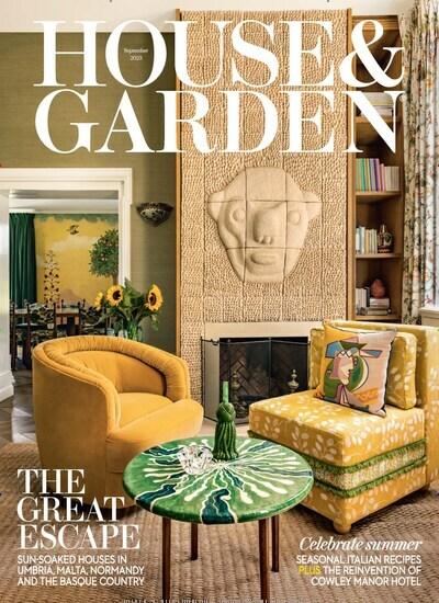 Ich Möchte Dir Die Zeitschrift House Garden United Kingdom Empfehlen