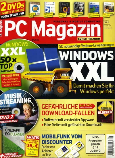 zeitschrift pc magazin super premium dvd im abo kaufen ab 84 96. Black Bedroom Furniture Sets. Home Design Ideas
