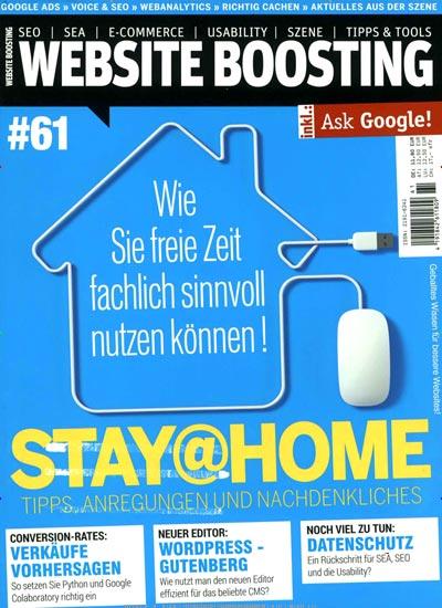 zeitschrift website boosting im abo kaufen ab 51 00. Black Bedroom Furniture Sets. Home Design Ideas