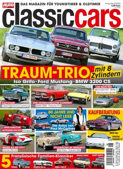 Classic Cars Zeitschrift : zeitschrift classic cars im abo kaufen f r 51 48 ~ Jslefanu.com Haus und Dekorationen