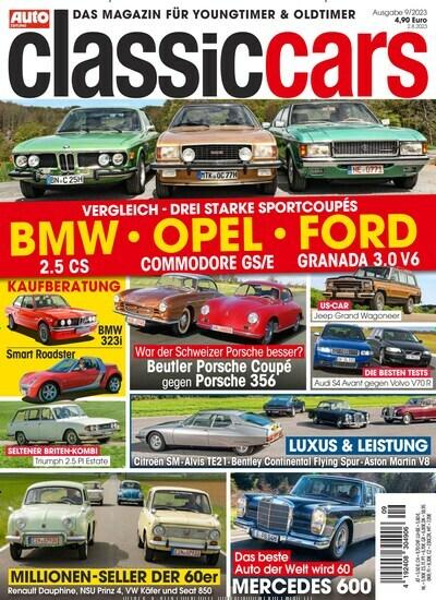Auto Zeitung classic cars-Prämienabo Titelbild