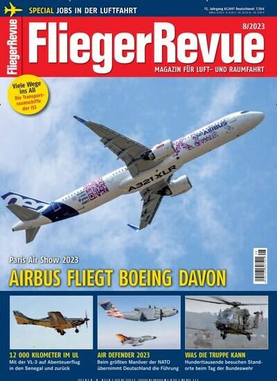 Magazine FliegerRevue buy as epaper from 4.99€