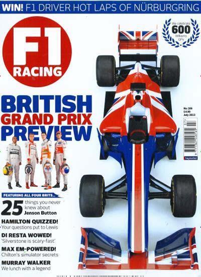 Ich möchte Dir die Zeitschrift F1 Racing United Kingdom empfehlen