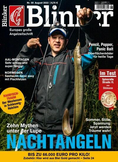 Zeitschrift blinker kaufen als epaper ab 3 99 for Karpfen steckbrief
