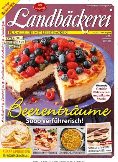 Lecker Zeitschrift Abo landbäckerei im abo ab 21 00