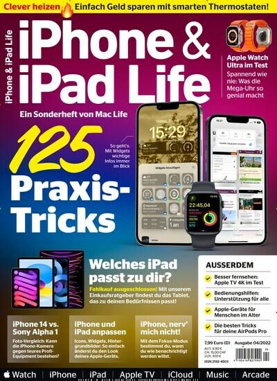 iPhone & iPad Life-Prämienabo Titelbild