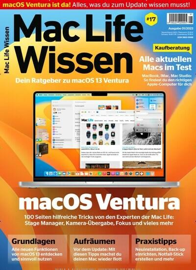 Mac Life Wissen Als Abo Zeitschrift Bei United Kiosk Kaufen