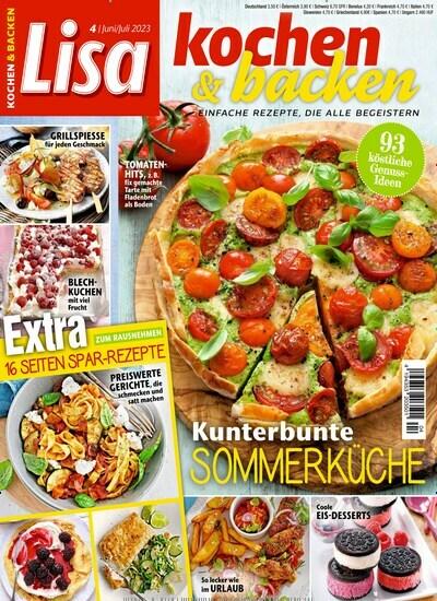 Genuss Kochzeitschrift kochen backen 30 tage gratis lesen