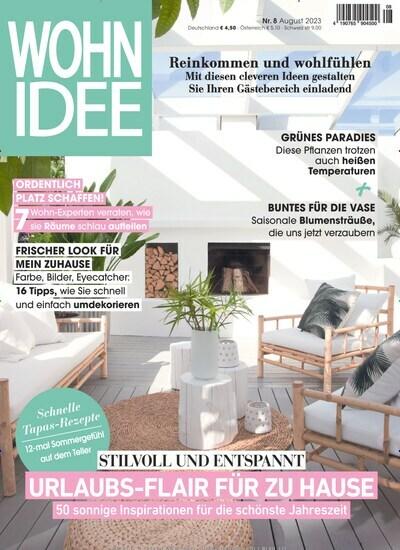 Aktuelles Titelbild Von Wohnidee   Epaper. In Der Ausgabe 10/2018 Geht Es Um