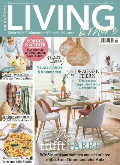 Aktuelles Titelbild Von Living U0026 More   Epaper. In Der Ausgabe 10/2018 Geht