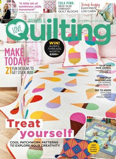 Zeitschrift Love Patchwork Quilting United Kingdom Im Abo Ab 3960