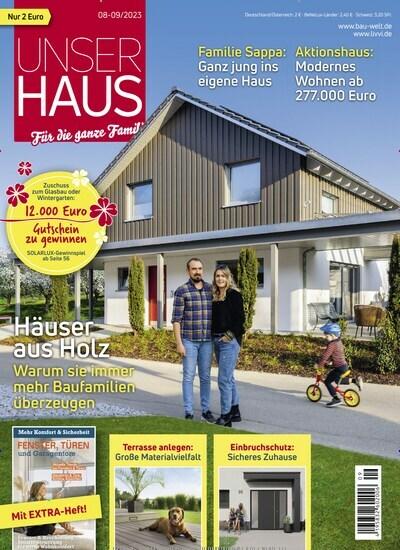 Wohn Zeitschriften unser haus 30 tage gratis lesen