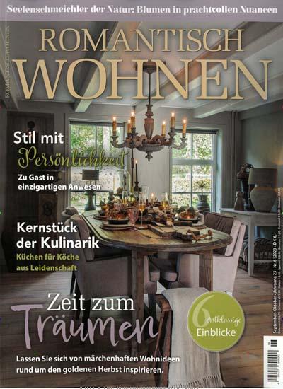 Wohnen Und Leben Zeitschrift romantisch wohnen im abo ab 32 49