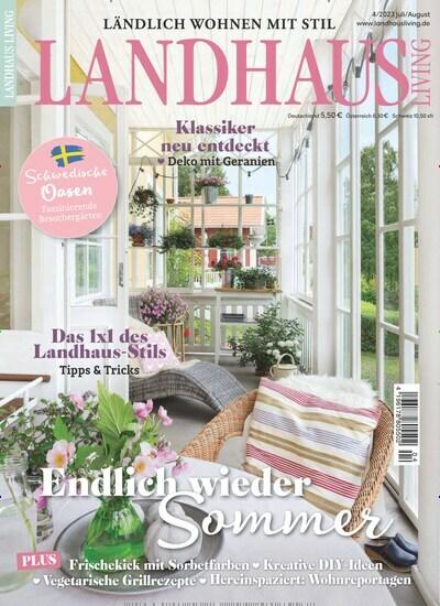 Zeitschrift Landhaus landhaus living im abo ab 29 00