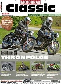 Motorrad Classic Abo Titelbild