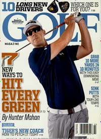 GOLF MAGAZINE Titelbild