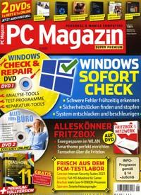 PC Magazin mit 3 DVDs Abo Titelbild