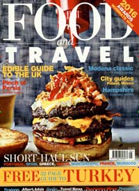 FOOD AND TRAVEL GB Titelbild