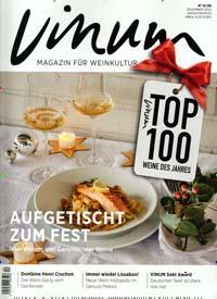 VINUM - Europas Weinmagazin Abo Titelbild