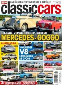 Auto Zeitung classic cars Abo Titelbild