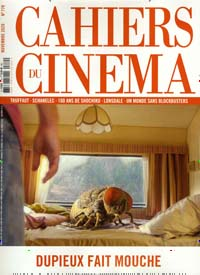 Cover: CAHIERS DU CINEMA
