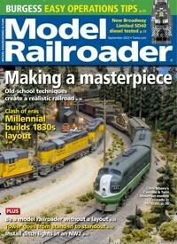 Cover: MODEL RAILROADER