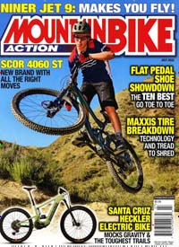 Cover: MOUNTAIN BIKE ACTION
