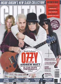Cover: GUITAR MAGAZINE