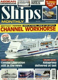Cover: SHIPS MONTHLY