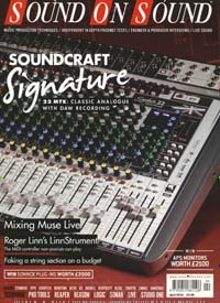 Cover: SOUND ON SOUND