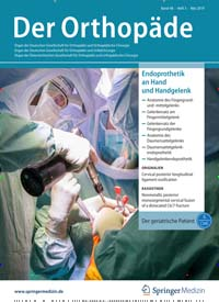 Cover: Der Orthopäde