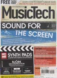 Cover: MUSIC TECH MAGAZINE