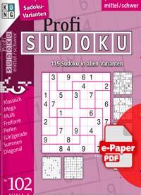 Cover: PROFI SUDOKU