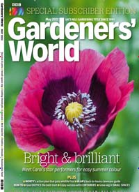Cover: BBC GARDENERS  WORLD GB