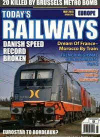 Cover: TODAY`S RAILWAYS EUROPE