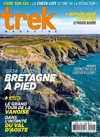 Cover: TREK MAGAZINE