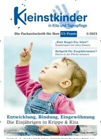 Cover: Kleinstkinder in Kita und Tagespflege