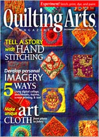 Cover: QUILTING ARTS