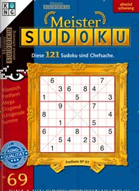 Cover: MEISTER SUDOKU