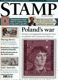 Cover: STAMP MAGAZINE