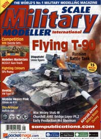 Cover: SCALE MILITARY MODELLER INT.