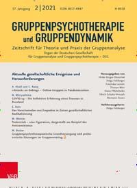 Cover: Gruppenpsychotherapie und Gruppendynamik