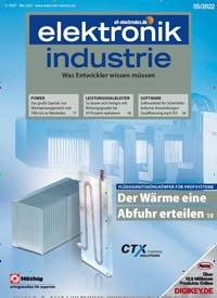 Cover: elektronik industrie