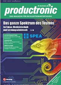Cover: productronic