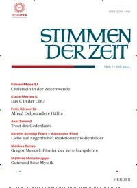 Cover: Stimmen der Zeit